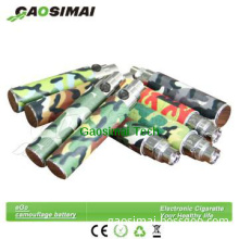 New design Camouflage ego battery/ego battery 650/900/1100mah