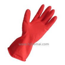 Household Latex Gloves Rubber Cleanning Gloves Latex Kitchen Gloves