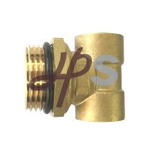 Encaixe de bronze de 3 maneiras para as peças do distribuidor do sistema de aquecimento de assoalho