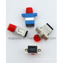 Adaptateur fibre optique métallique FC-Sc