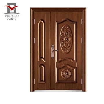 Porta de saída de aço Oem aceitada de baixo preço e qualidade garantida