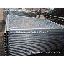 48mm Od. Panneau de clôture temporaire galvanisé lourd