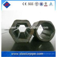 Círculo de tubo de acero hexagonal de alta precisión