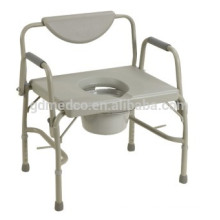Plastic folding shower commode chairs CM003