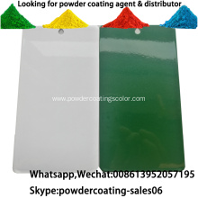 Pure polyester electrostatic spray powder coating