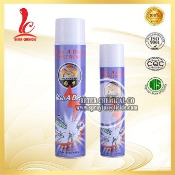 600ml OEM Potente Mosquito Killer Precio Preferencial Insecticida Spray