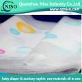 Super Soft Textile Baby Diaper Backsheet Laminated Nonwoven
