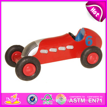 2014 New Wooden Toy Car for Kids, Popular Mini Wooden Car Toy for Children, Hot Sale Colorful Wooden Toy Car for Baby W04A069