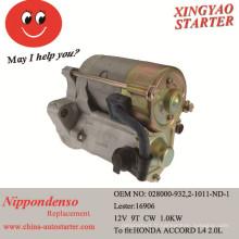 Pièces de moteur et démarreur pour réparation après-vente pour Honda (16906)