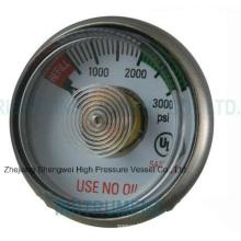 Medical Hospital Double-Gauge Oxygen Cylinder Regulator