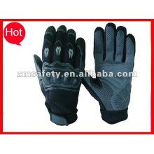 Carbon fiber protector auto racing glove