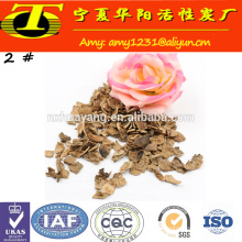 Factory price granular walnut shell for sand blasting with high performance