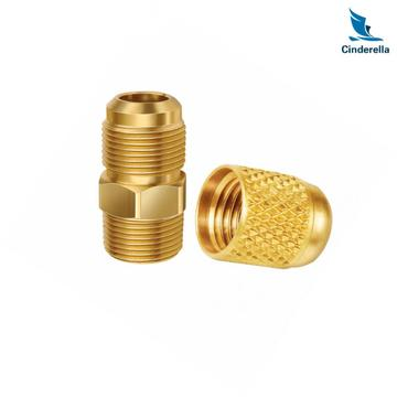 CNC Machining Service Brass Fittings