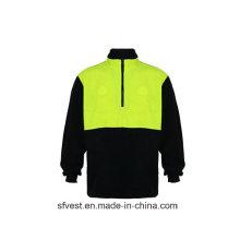 100% Polyester Fleece Sicherheit Sweatshirt