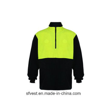100% Polyester Fleece Safety Sweatshirt