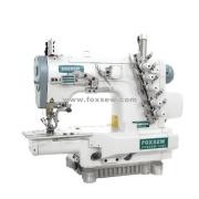 Máquina de coser de SIRUBA tipo cilindro cama Interlock