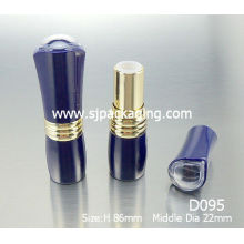 Big Lips Lipstick tube Top of the filling blue Lipstick tube cosmetics halal cosmetics