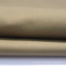 Tela de lona de algodón 100% resistente al agua resistente al desgaste sólida
