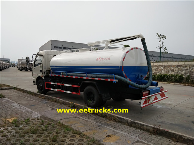 1000 Gallon Sewage Cleaner Trucks