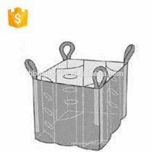 Saco de impressão personalizada de plástico 1ton grande saco
