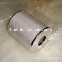 Malla no tejida industrial del filtro del fieltro de la fibra del acero inoxidable de 40 micrones