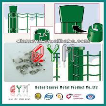 Euro Wire Mesh Fence para rodovia ou estádio