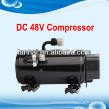 DC 48v solar power car air conditioner sleeper bus portable air conditioner 12v automotive air conditioning electric