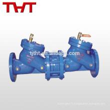 bride anti-fouling valve de fermeture