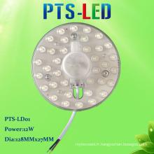 Hot vente PF élevé AC magnétique SMD sans conducteur 2835 plafond léger Module LED 18W 220V