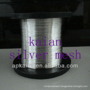 hot sale 0.05-8mm wire diameter pure silver wire(30 years factory)