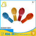 Euro food stardard wholesale melamine bamboo colorful spoon rest