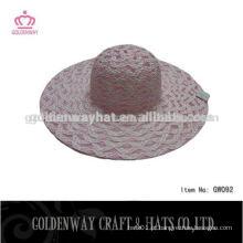 Atacado papel senhoras chapéu chapéu chapéu chapéu