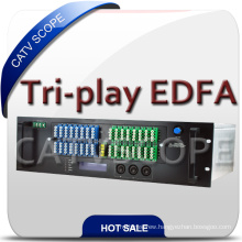Optical Amplifier EDFA Built with Wdm