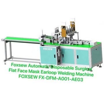 Automatic Disposable Surgical Mask Earloop Welding Machine
