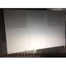 Hochpräzise Custom Sheet Metal eloxierte Aluminiumplatte