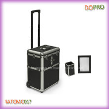 Large Beauty Cases Black Professional Makeup Trolley Case (SATCMC017)