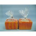 Pumpkin Candlestick Shape Ceramic Crafts (LOE2360-9z)