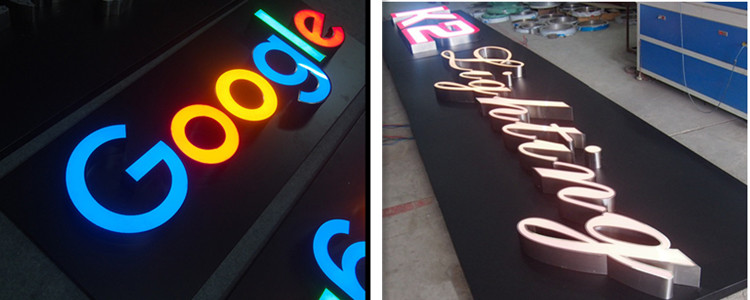 laser cut led signs