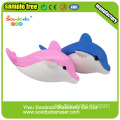 Pussel Dolphin suddgummin Animal Rubber Set Eraser