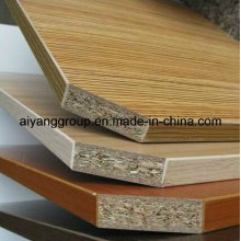 All Thick Wood Grain Melamine Faced Particle Board/Chipboard for Lipping
