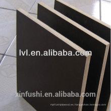 Panel de madera contrachapada / encofrado para el mercado de Angola