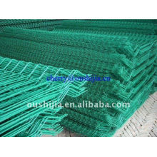 Vinyl PVC Coated Welded Wire Mesh Fence(Factory&Exporter)