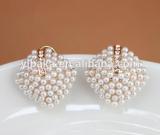 rhinestone stud earring, rhinestone stud earring, pearl earring