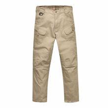 Pantalones urbanos tácticos militares en lona de algodón de alta calidad