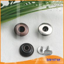 Metallknopf, kundenspezifische Jean-Knöpfe BM1674