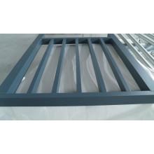 6063 Extrudez le système de garde-corps en aluminium fait en tant que conception des clients
