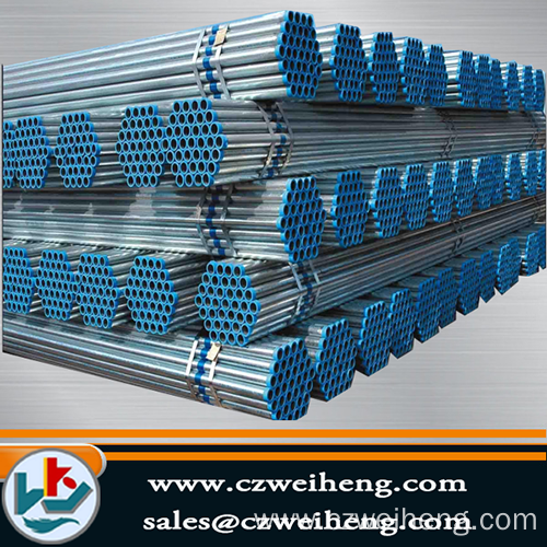 ms erw welded pregalvanized pipe steel from china