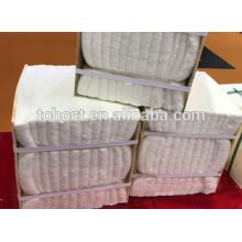 1260/1430 manta de fibra de cerámica de aislamiento refractario
