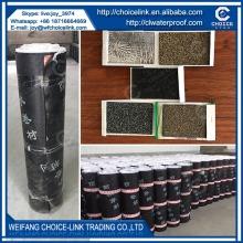 heating applied polyester reinforced SBS modified asphalt waterproof sheet
