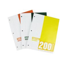 Size 267X203mm Filler Paper Loose Leaf (RP-068)